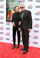 HOLLYWOOD, CA - NOVEMBER 12: Annette Bening, Warren Beatty, at the Film Stars Don't Die In Liverpool Special Screening AFI Fest 2017 at the TCL Chinese Theatre in Hollywood, California on November 12, 2017. <br /> CAP/MPI/FS<br /> &copy;FS/MPI/Capital Pictures