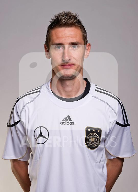 02.06.2010, Commerzbank-Arena, Frankfurt, GER, FIFA Worldcup, Spielerportraits, im Bild Miroslav Klose ( FC Bayern Muenchen #11 ) Foto © nph / Kokenge