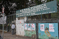 SÃO PAULO 24.11.2015 - PROTESTOS-SP Alunos ocupam a escola Raul Fonseca no bairro da Saúde zona sul de São Paulo nesta terça-feira, 24. (Foto: Carlos Pessuto/Brazil Photo Press)