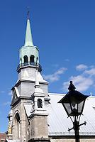 Notre Dame de Bon Secours Chapel in Old Montreal, Quebec, Canada