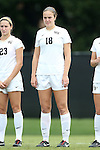 28 September 2014: Wake Forest's Claudia Day. The Wake Forest University Demon Deacons hosted the Notre Dame University Fighting Irish at W. Dennie Spry Soccer Stadium in Winston-Salem, North Carolina in a 2014 NCAA Division I Women's Soccer match.