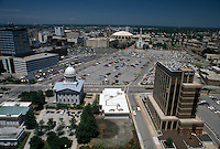 1990 June 13..Redevelopment..Macarthur Center.Downtown North (R-8)..LOOKING NORTH.FROM CRESTAR BUILDING...NEG#.NRHA#..