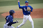 Wildcats' Thomas Kerr makes a play against College of Eastern Utah at Western Nevada College in Carson City, Nev., on Saturday, April 25, 2015. <br /> Photo by Cathleen Allison