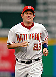 16 May 2007: Washington Nationals right fielder Austin Kearns warms up prior to a game against the Atlanta Braves at RFK Stadium in Washington, DC. The Nationals rallied to defeat the Braves 6-4 to take a 2-1 lead in their four-game series...Mandatory Photo Credit: Ed Wolfstein Photo