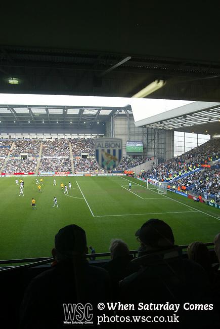 West Bromwich Albion 1 Bolton Wanderers 1, 21/03/2009. The Hawthorns, West Bromwich. Premier League. Photo by Tony Davis.