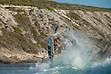 South African Surfer at Gallows near Gracetown, Western Australia