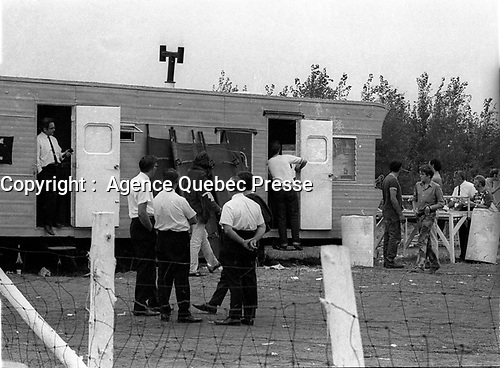 Le festival pop de Manseau<br /> , les 1er et 2 aout 1970<br /> <br /> PHOTO : Agence Quebec Presse - Photo Moderne