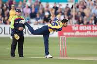 Ravi Bopara of Essex CCC the pick of the bowlers with 3-18 from 4 overs during Essex Eagles vs Somerset, Vitality Blast T20 Cricket at The Cloudfm County Ground on 7th August 2019