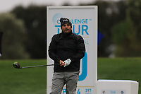 Joel Sjoholm (SWE) on the 10th tee during Round 4 of the Challenge Tour Grand Final 2019 at Club de Golf Alcanada, Port d'Alcúdia, Mallorca, Spain on Sunday 10th November 2019.<br /> Picture:  Thos Caffrey / Golffile<br /> <br /> All photo usage must carry mandatory copyright credit (© Golffile | Thos Caffrey)