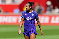 Bridgeview, IL - Saturday July 22, 2017: Toni Pressley during a regular season National Women's Soccer League (NWSL) match between the Chicago Red Stars and the Orlando Pride at Toyota Park. The Red Stars won 2-1.