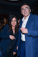 NEW YORK CITY - MARCH 15: Pamela Adlon and Danny Boyle attends FX Networks 2018 Annual All-Star Bowling Party at Lucky Strike Manhattan on March 15, 2018 in New York City. (Photo by Anthony Behar/FX/PictureGroup)