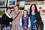 Massie McCarthy, Noreen Doolan, Mary Clare McCarthy and Catriona O'Shea at the Killarney Rotary club Wine+Art night in the Malton Hotel on Saturday night