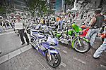 Motorcycle Rally Protest