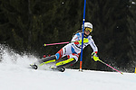 10.03.2018, Ofterschwanger Horn, Ofterschwang, GER, Slalom Weltcup in Ofterschwang, im Bild Aline Danioth (SUI, #38)<br /> <br /> Foto &copy; nordphoto / Hafner