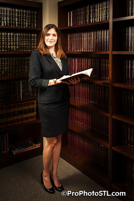 Goldstein & Price L.C. law offices promo shoot