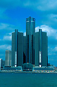 GM Renaissance Center in Detroit, Michigan.