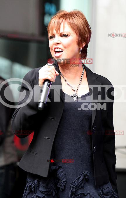 June 29, 2012 Pat Benatar performs at Fox & Friends All-American Summer Concert Series in New York City. © RW/MediaPunch Inc.
