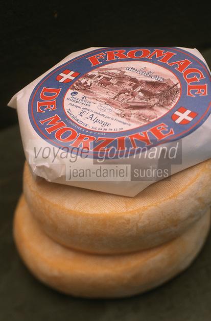 """Europe/France/Rhône-Alpes/74/Haute-Savoie/Morzine: Fromage de Morzine Reblochon de """"L'Alpage"""" La Fruitiére de Morzine"""""""