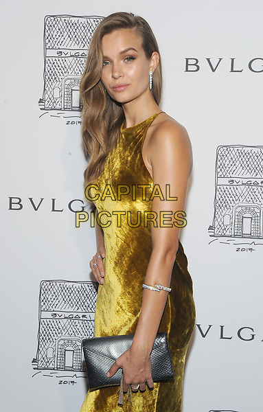 NEW YORK, NY - OCTOBER 19: Josephine Skriver attends the re-opening of the  Bulgari flagship store on Fifth Avenue in New York City on October 20, 2017. <br /> CAP/MPI/JP<br /> &copy;JP/MPI/Capital Pictures