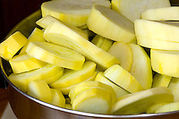 Sliced Yellow Squash