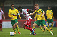 Blair Turgott of Stevenage in action during Stevenage vs Norwich City, Friendly Match Football at the Lamex Stadium on 11th July 2017