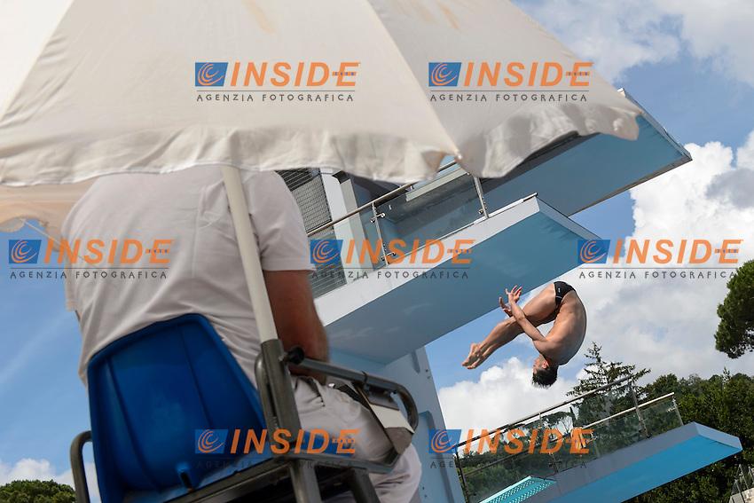 Tommaso Rinaldi ITA <br /> 3m Springboard Men <br /> Roma 20-06-2016 Stadio del Nuoto Foro Italico Tuffi Campionati Italiani <br /> Foto Andrea Staccioli Insidefoto