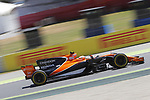 Stoffel Vandoorne (BEL) McLaren MCL32 at Formula 1 World Championship,FIA, Spanish Grand Prix, Qualifying, Barcelona. 13.05.2017