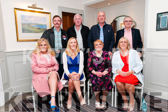 80th Birthday: Mary Enright, Ballyconry, Liselton celebrating her 80th birthday with her family at the Cliff House Hotel, Ballybunion on Sunday afternoon last. Front: Geraldine Kelly, Maura Hanrahan, Mary Enright & Helen O'Hara. Back : Jack, Mike, Paul & Jim Enright.