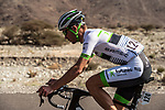 Pierre Luc Perichon (FRA) Fortuneo-Samsic from the breakaway group in action during Stage 1 of the 2018 Tour of Oman running 162.5km from Nizwa to Sultan Qaboos University. 13th February 2018.<br /> Picture: ASO/Muscat Municipality/Kare Dehlie Thorstad | Cyclefile<br /> <br /> <br /> All photos usage must carry mandatory copyright credit (&copy; Cyclefile | ASO/Muscat Municipality/Kare Dehlie Thorstad)