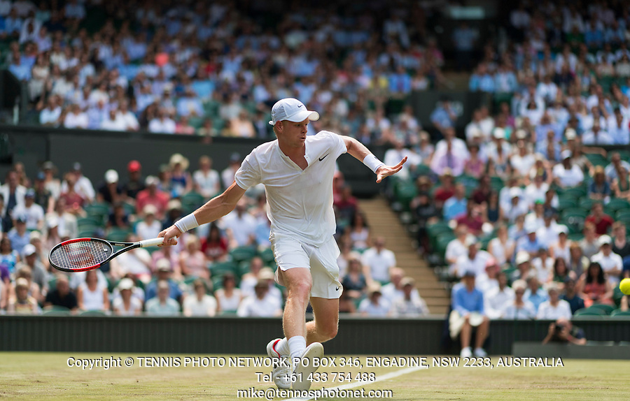KYLE EDMUND (GBR)<br /> <br /> TENNIS - THE CHAMPIONSHIPS - WIMBLEDON- ALL ENGLAND LAWN TENNIS AND CROQUET CLUB - ATP - WTA -ITF - WIMBLEDON-SW19, LONDON, GREAT  BRITAIN- 2017  <br /> <br /> <br /> &copy; TENNIS PHOTO NETWORK