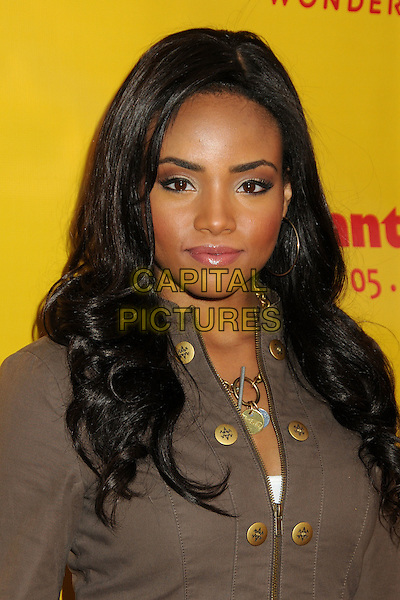 Meagan Tandy.'She Wants Me' Los Angeles premiere at the Laemmle Music Hall, Beverly Hills, California, USA..5th April 2012.headshot portrait brown jacket.CAP/ADM/BP.©Byron Purvis/AdMedia/Capital Pictures.