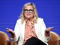 2019 FOX SUMMER TCA:  DUNCANVILLE Cast member/Co-Creator/Writer/Executive Producer Amy Poehler during the ANIMATION DOMINATION: BLESS THE HARTS/DUNCANVILLE panel at the 2019 FOX SUMMER TCA at the Beverly Hilton Hotel, Wednesday, Aug. 7 in Beverly Hills, CA. CR: Frank Micelotta/FOX/PictureGroup