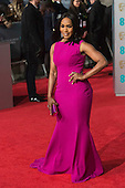 London, UK. 14 February 2016. Actress Angela Bassett. Red carpet arrivals for the 69th EE British Academy Film Awards, BAFTAs, at the Royal Opera House. © Vibrant Pictures/Alamy Live News