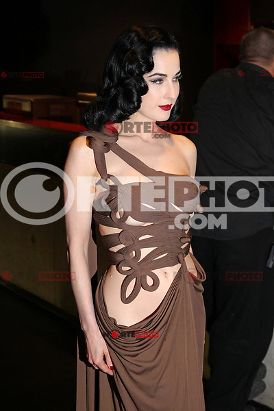 "Dita von Teese attending the ""Duftstars 2012 - German Perfume Award"" held at the Tempodrom in Berlin, Germany, 04.05.2012..Credit: Semmer/face to face /MediaPunch Inc. ***FOR USA ONLY***"