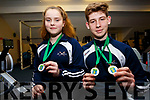 El Nino Rowing Club members Jane O'Connor & Adam Casey were at the top of their game on Saturday 20th for the Irish Indoor Rowing Championships which took take place at the UL Arena, Jane took Bronze in the U13 500m and Adam who came away with 2 Gold's one for the 3minute and the second for the U13 500m setting a new National record of 1:39.
