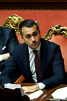 Luigi Di Maio<br /> Rome September 10th 2019. Senate. Discussion and Trust vote at the new Government. <br /> Foto  Samantha Zucchi Insidefoto