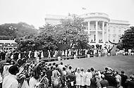 1792, Washington, DC, USA --- President Richard Nixon's daughter Tricia Nixon weds Edward Cox at the White House. --- Image by © JP Laffont