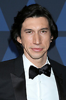 LOS ANGELES - OCT 27:  Adam Driver at the 11th Annual Governors Awards at the Dolby Theater on October 27, 2019 in Los Angeles, CA