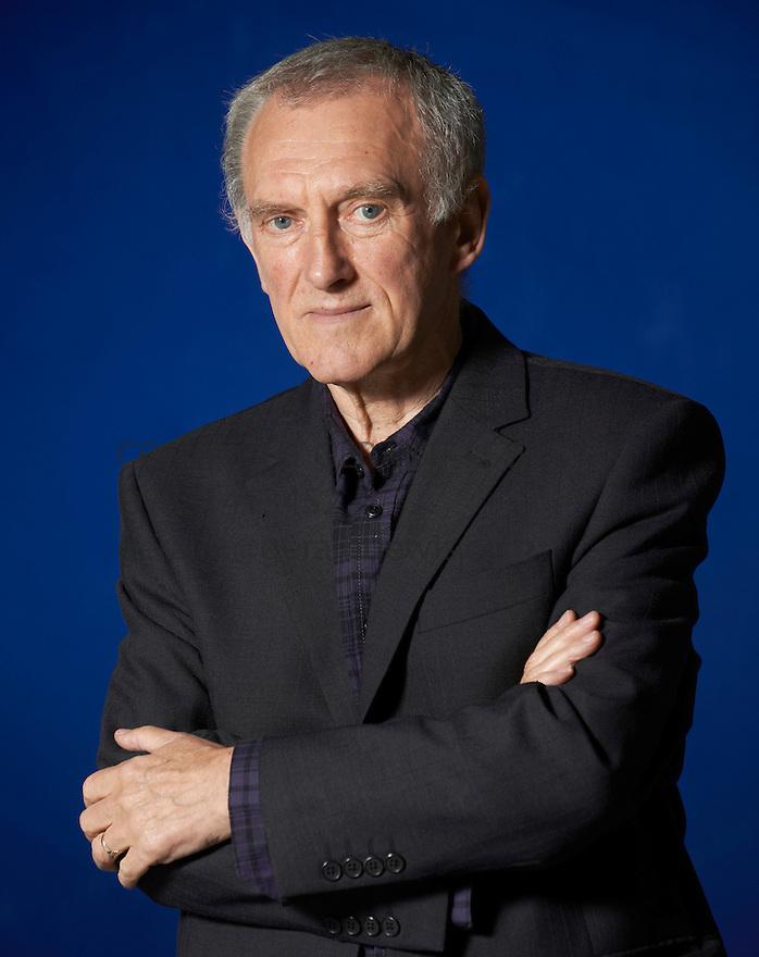 James Kelman, novelist and past winner of The Man Booker Prize at The Edinburgh International Book Festival   . Credit Geraint Lewis