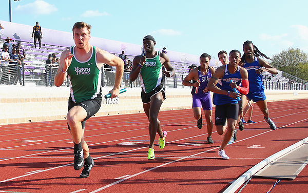 FT WORTH, TX - MARCH 17/18: University of North Texas Track & Field at Lowdon Track & Field Complex 2017 TCU Invitational  in Ft Worth on March 17/18, 2017 in Ft Worth, Texas. (Photo by Rick Yeatts)