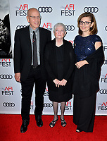 "LOS ANGELES, USA. November 21, 2019: G. Watson Bryant Jr., Barbara ""Bobi"" Jewell & Nadya Bryant at the world premiere for ""Richard Jewell"" as part of the AFI Fest 2019 at the TCL Chinese Theatre.<br /> Picture: Paul Smith/Featureflash"