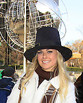 On-the-street reporter Guiding Light, Broadway and Country Music Star Laura Bell Bundy who reports and interacts with the crowd for the second consecutive year for the CBS Thanksgiving Day Parade on November 22, 2012 during the Macy's parade with Broadway performances and interviews in New York City, New York.  (Photo by Sue Coflin/Max Photos)