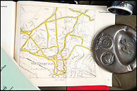 BNPS.co.uk (01202 558833)<br /> Pic: PhilYeomans/BNPS<br /> <br /> Southampton - Street maps of Britain's seaside towns were also included.<br /> <br /> Chilling - Hitlers 'How to' guide to the invasion of Britain.<br /> <br /> A remarkably detailed invasion plan pack of Britain has been unearthed to reveal how our genteel seaside resorts would have been in the front line had Hitler got his way in World War Two.<br /> <br /> The Operation Sea Lion documents, which were issued to German military headquarters' on August 1, 1940, contain numerous maps and photos of every town on the south coast.<br /> <br /> They provide a chilling reminder of how well prepared a German invading force would have been had the Luftwaffe not been rebuffed by The Few in the Battle of Britain.<br /> <br /> There is a large selection of black and white photos of seaside resorts and notable landmarks stretching all the way from Land's End in Cornwall to Broadstairs in Kent.<br /> <br /> The pack also features a map of Hastings, raising the possibility that a second battle could have been staged there, almost 900 years after the invading William The Conqueror triumphed in 1066.