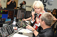 Joanna Lumley<br /> on the trading floor for the BGC Charity Day 2016, Canary Wharf, London.<br /> <br /> <br /> &copy;Ash Knotek  D3152  12/09/2016
