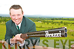 Eddie Walsh Castleisland who is representing Ireland in the World Clay Pigeon Shooting in Dorset, England this week