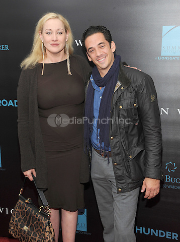 New York, NY- October 13: Amy Sacco and John Meadows attends the Summit Entertainment and Thunder Road Pictures New York screening of John Wick at the Regal Union Square on October 13, 2014 in New York City. Credit: John Palmer/MediaPunch