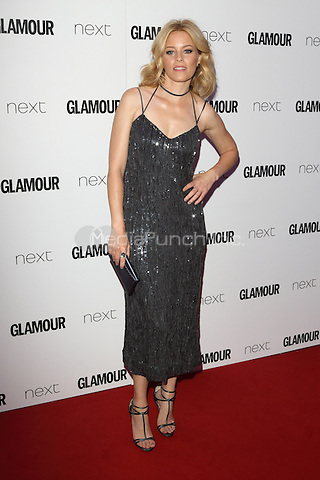 Elizabeth Banks at The Glamour Awards 2016 at Berkeley Square Gardens London on June 7th 2016<br /> CAP/ROS<br /> &copy;Steve Ross/Capital Pictures /MediaPunch ***NORTH AND SOUTH AMERICAS ONLY***