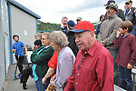 """3563 Lee Jordan signs """"Take Me Out to the Ball Game"""" in the final game of the season at his namesake field.  Photo for the Star by  Michael Dinneen"""