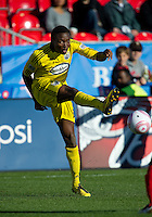 October 16 2010  Columbus Crew midfielder Emmanuel Ekpo #17 in action during a game between the Columbus Crew and Toronto FC at BMO Field in Toronto..The final score was a 2-2 draw.
