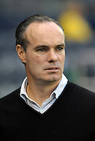 Mike Burns New England Revolution General Manager... Sporting Kansas City defeated New England Revolution 3-0 at LIVESTRONG Sporting Park, Kansas City, Kansas.